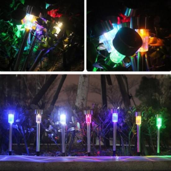 BRELONG LED Solar Lawn Light for Outdoor Garden  5PCS