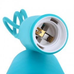 E27 Colorful Silicone Ceiling Lamp Holder