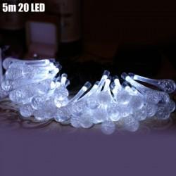 5m 20 LEDs Solar String Light for Xmas Party
