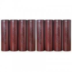 8 x HG2 3000mAh 3.6V 20A 18650 Rechargeable Lithium-ion Battery
