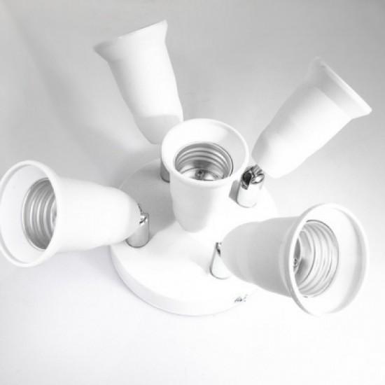 E26 1 to 5 Universal Conversion Socket